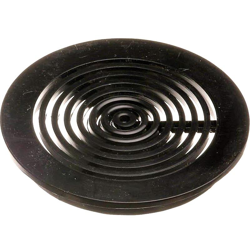 AQUA MEDIC Grille ronde 63 mm Noire