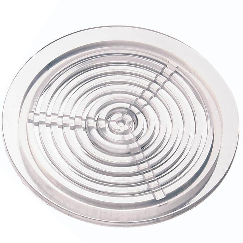 AQUA MEDIC Grille ronde 63 mm Transparante
