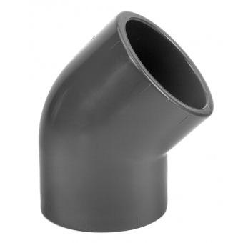VDL Coude à 45° en PVC diamètre 50 mm