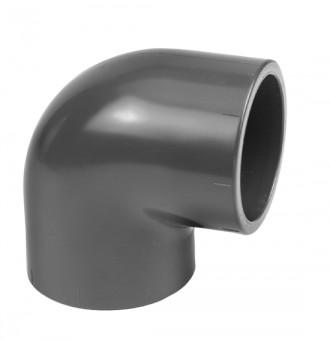 VDL Coude à 90° en PVC diamètre 63 mm