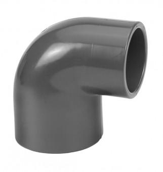 VDL Coude à 90° en PVC diamètre 50 x 40 mm