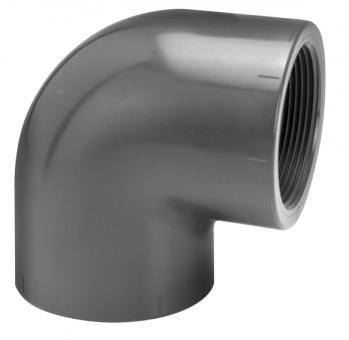 VDL Coude à 90° diamètre  63 mm avec filetage interne Femelle taille 2