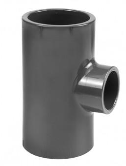 VDL Réducteur PVC en T diamètre 32 mm x 2 et 1 x 25 mm
