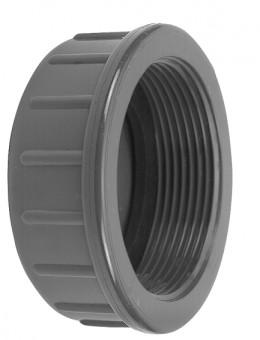 VDL Capuchon de vis en PVC avec partie filetée taille 3/4