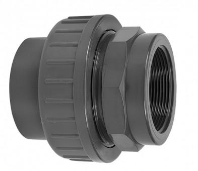 VDL Raccord PVC diamètre 16 mm x 3/8 pour la partie filetée femelle
