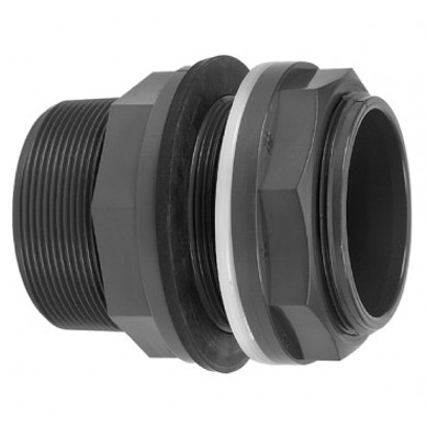 VDL Passe paroi PVC pour tubes 63 mm ou raccords 21/2