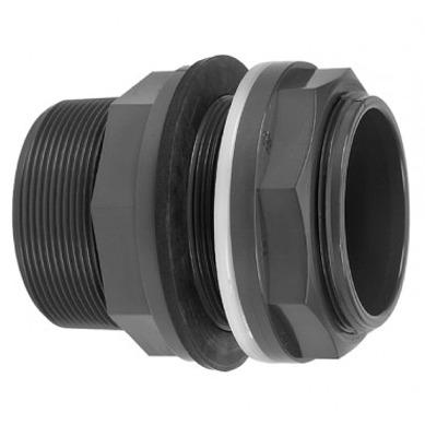 VDL Passe paroi PVC pour tubes 90 mm ou raccords 4