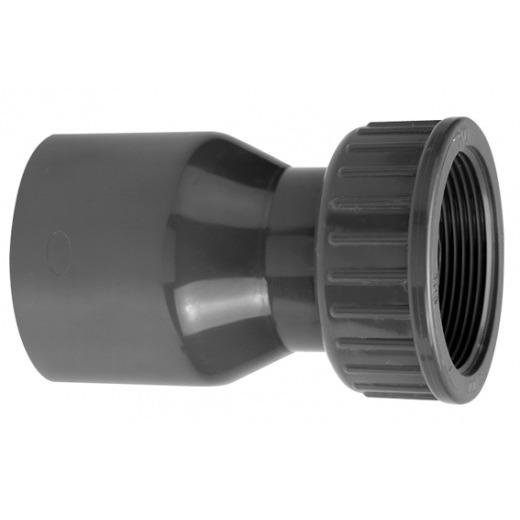 VDL Raccord PVC 90 mm vers partie filetée taille 3