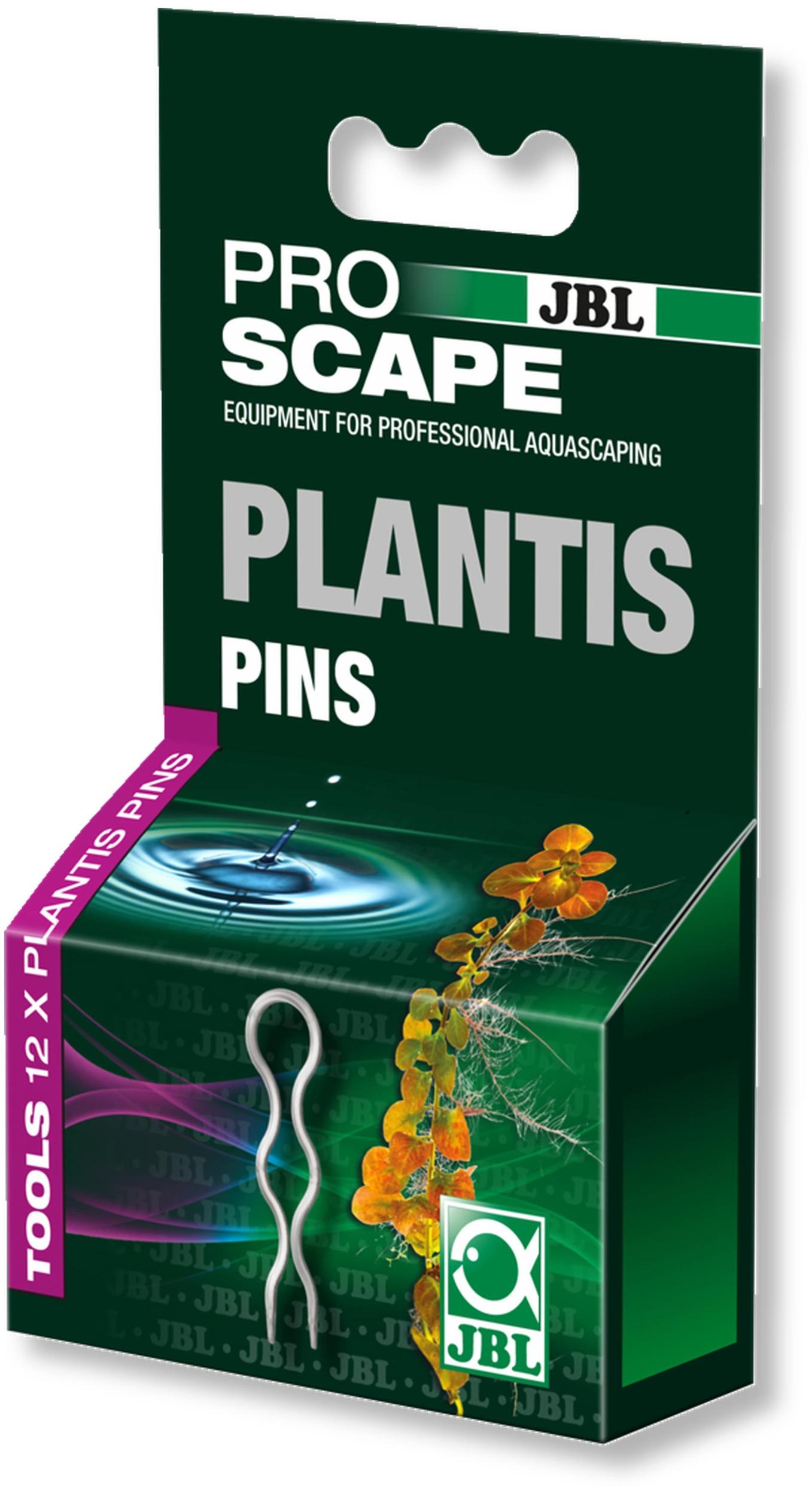 JBL ProScape Plantis 12 épingles pour une fixation sûre des plantes dans le fond de l\'aquarium