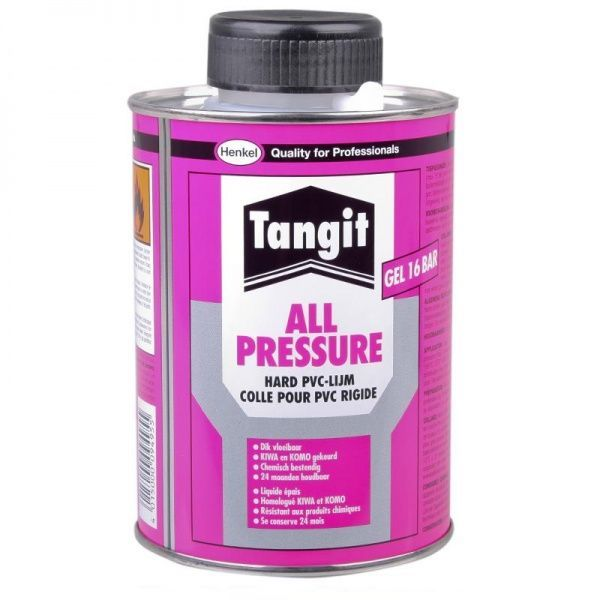 TANGIT Colle PVC-U All Pressure 250 ml pour assemblage PVC rigide