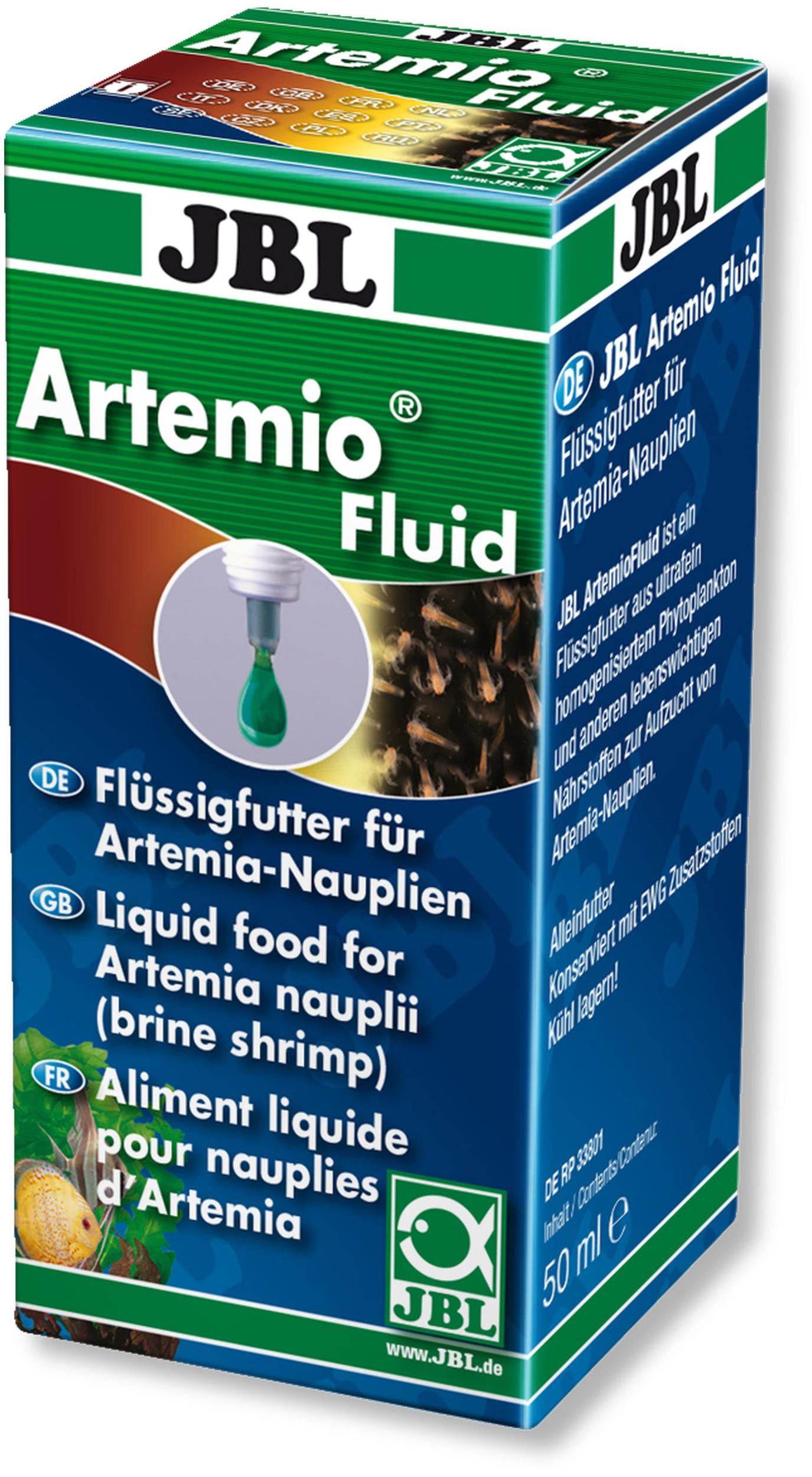 JBL Artemio Fluid 50 ml nourriture liquide pour nauplies d\'artémias