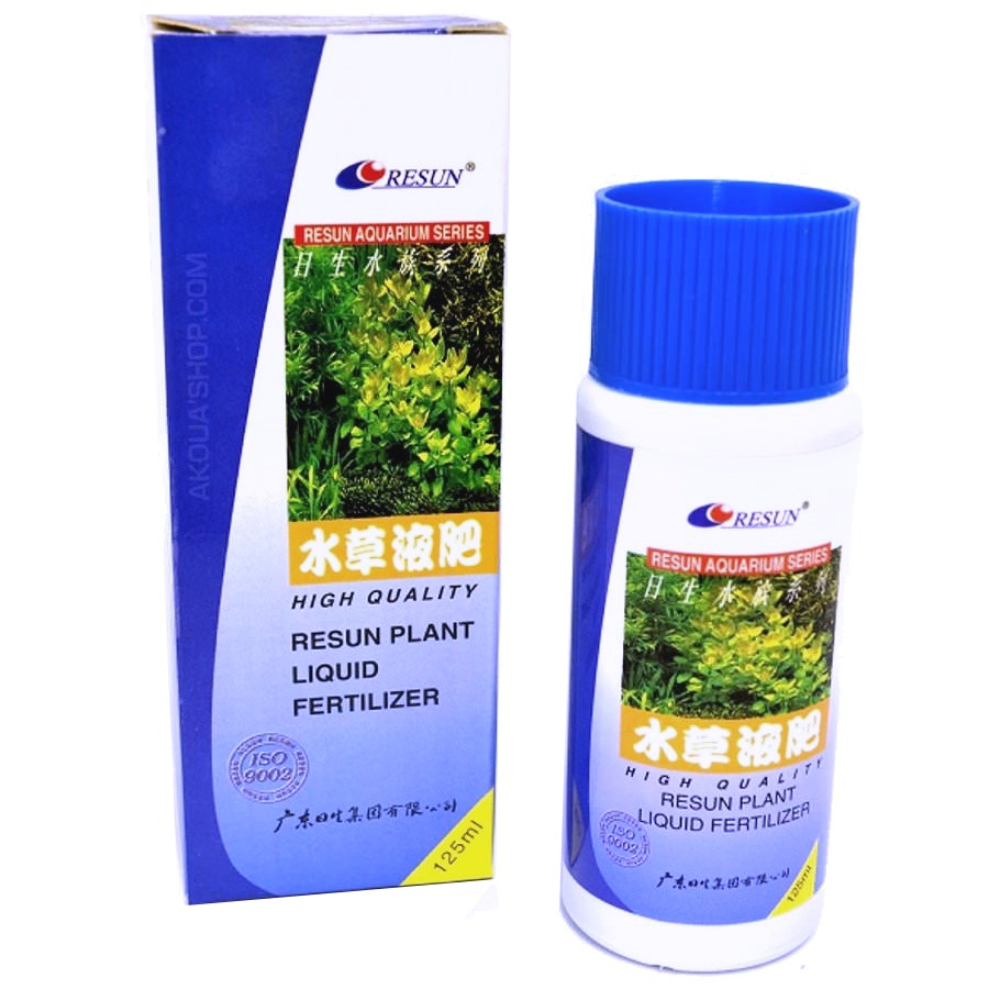 RESUN Plant Liquid Fertilizer 125ml engrais liquide concentré pour plantes d\'aquarium