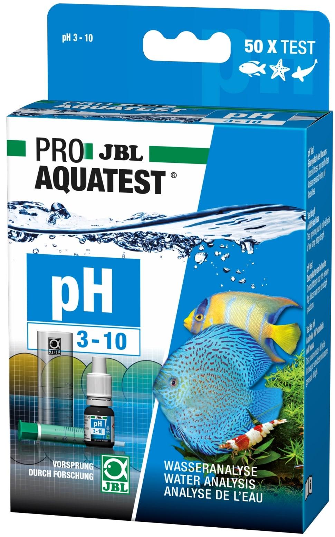 JBL ProAquaTest pH 3.0 à 10.0 test pour aquarium d\'eau douce, eau de mer et bassin