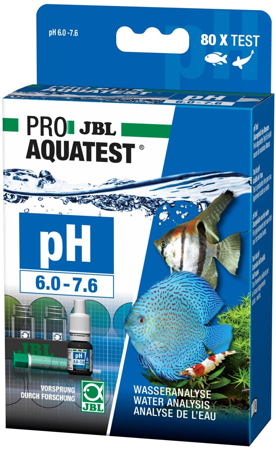 JBL ProAquaTest pH 6.0 à 7.6 test pour aquarium d\'eau douce et bassin