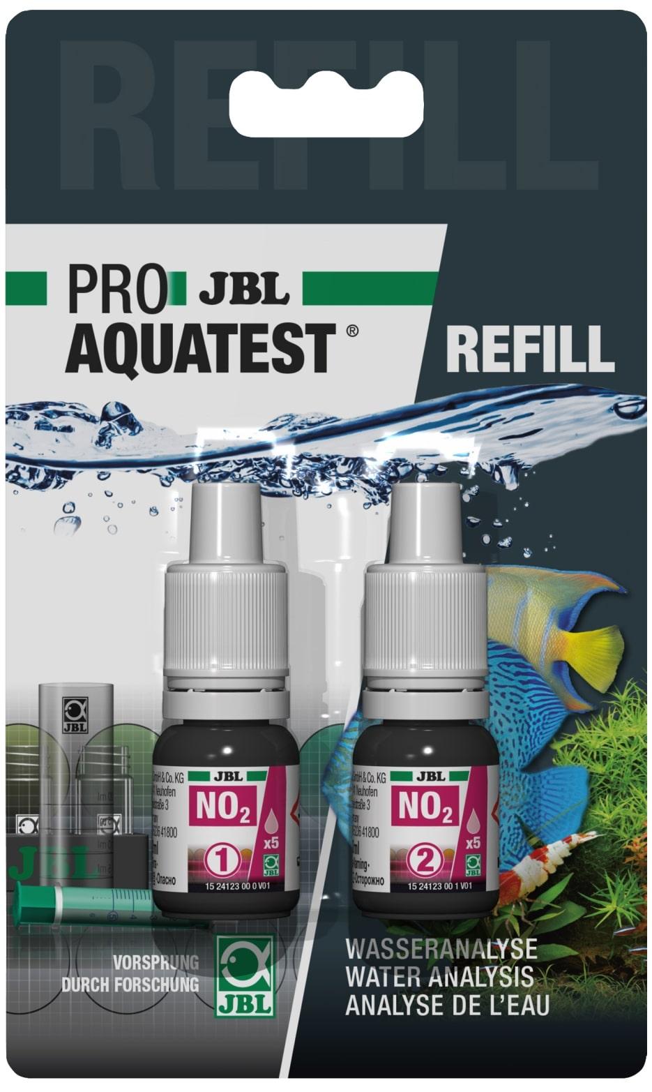 JBL Recharge ProAquaTest NO2 pour nouveau et ancien kit de test Nitrite