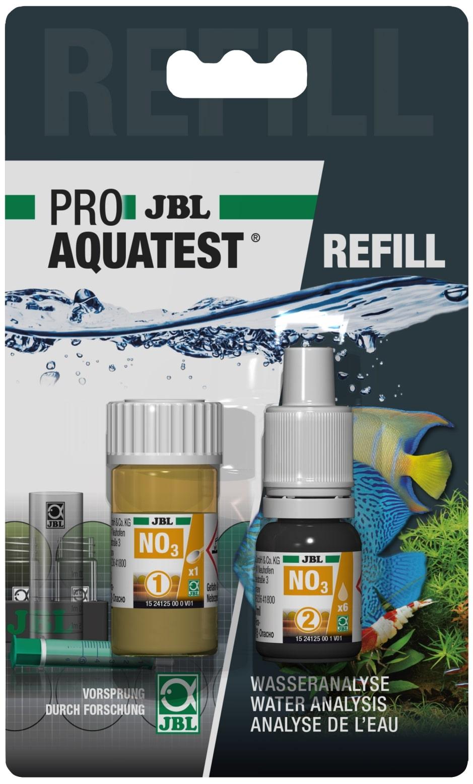 JBL Recharge ProAquaTest NO3 pour nouveau et ancien kit de test Nitrate