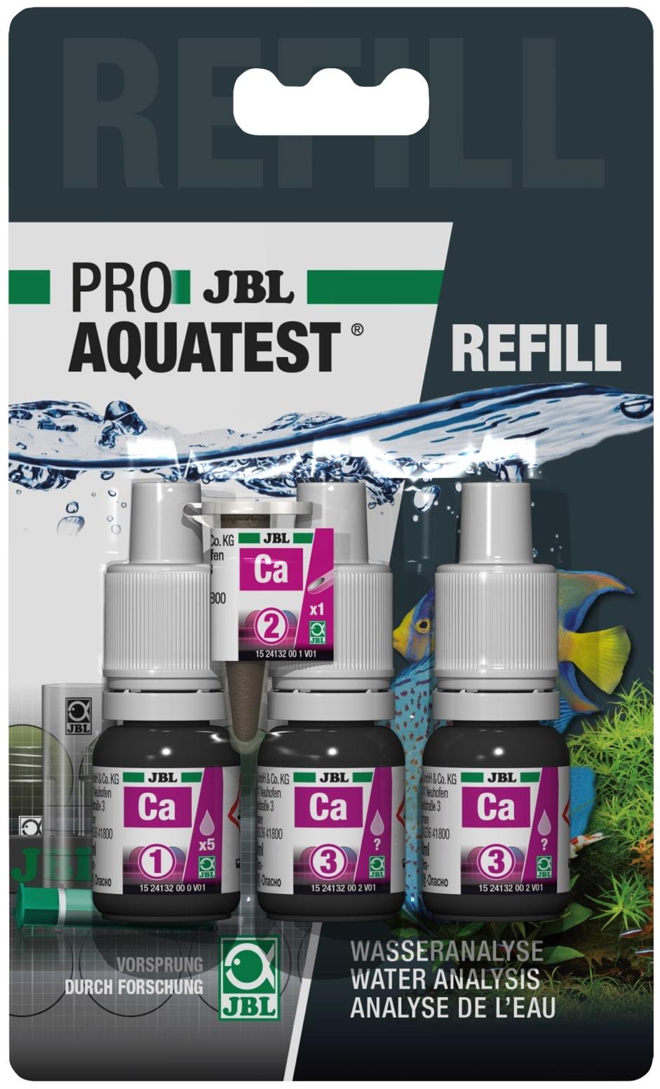 JBL Recharge ProAquaTest Ca pour nouveau et ancien kit de test Calcium