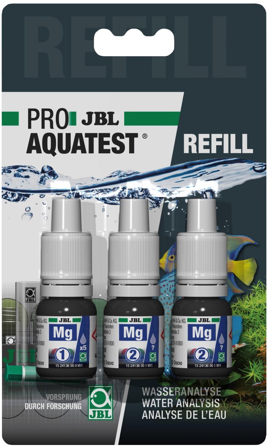 JBL Recharge ProAquaTest Mg pour nouveau et ancien kit de test Magnésium