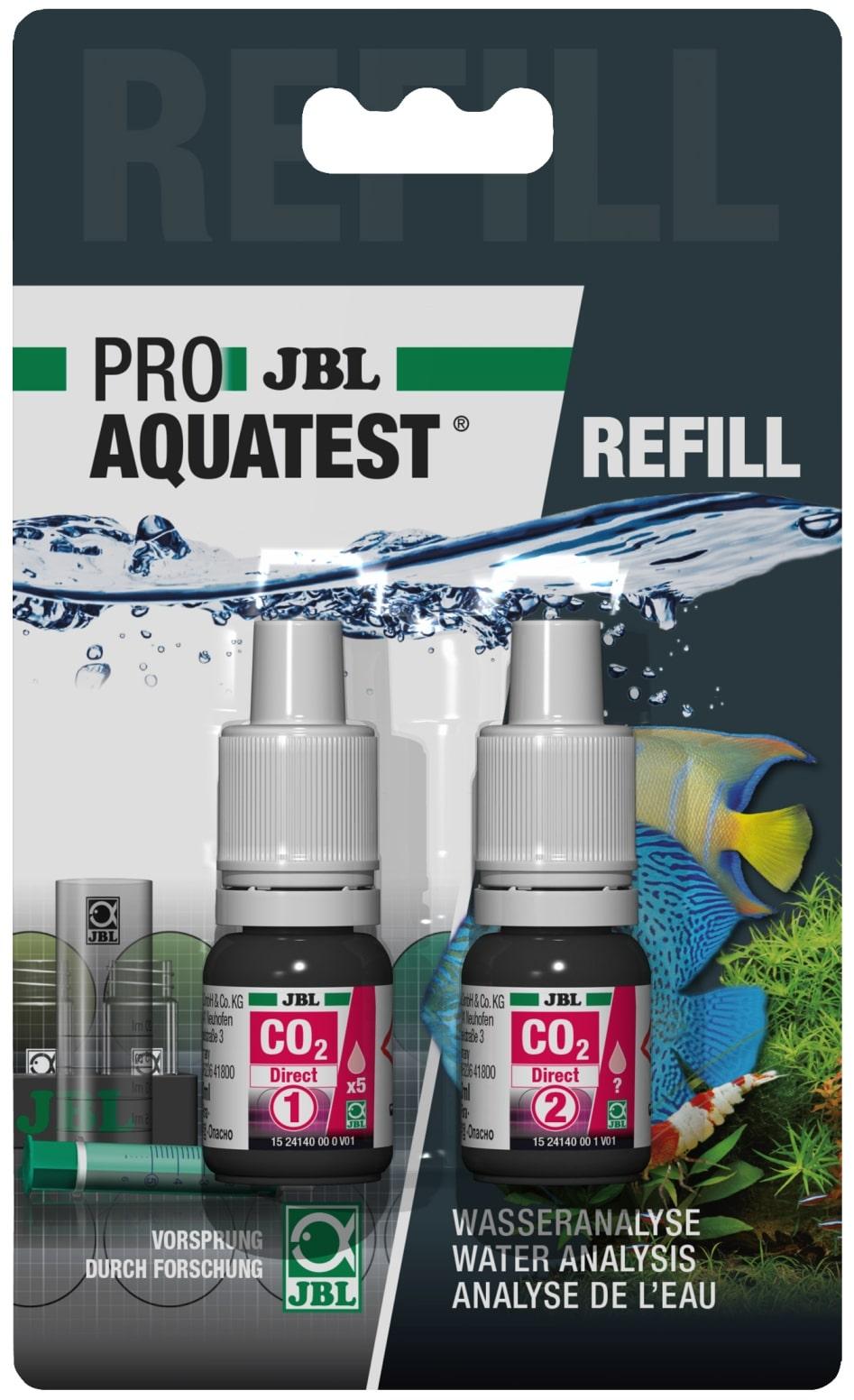 JBL Recharge ProAquaTest CO2 Direct pour nouveau et ancien kit de test