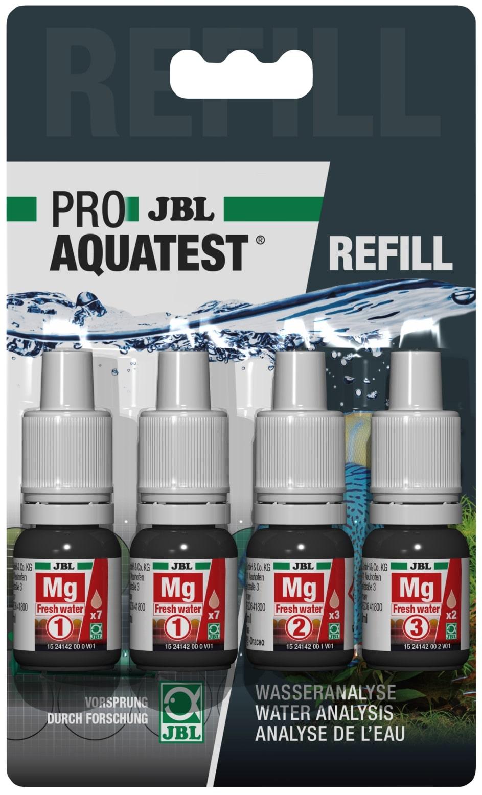 JBL Recharge ProAquaTest Mg Freshwater pour nouveau et ancien kit de test Magnésium Eau douce
