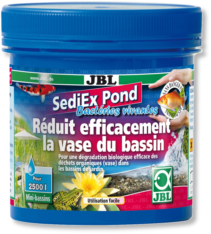 JBL SediEx Pond 250 gr dégradeur biologique efficace contre l\'excès de vase en bassins