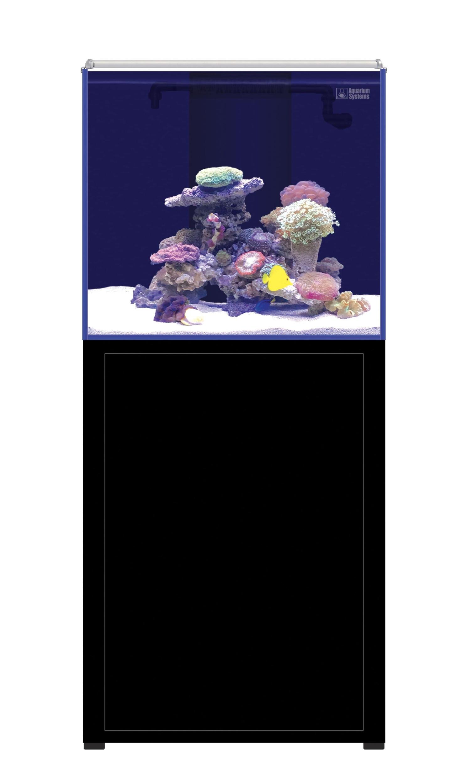 AQUARIUM SYSTEMS L\'Aquarium 250 Noir version 2.0 combinaison aquarium 162 L et meuble