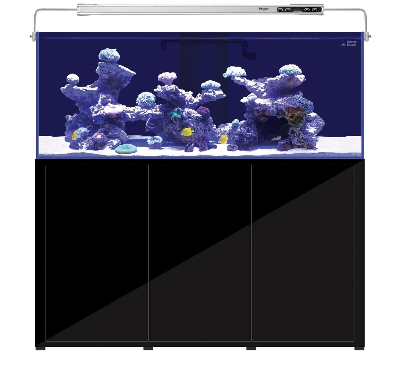 AQUARIUM SYSTEMS L\'Aquarium 720 Noir version 2.0 combinaison aquarium 464 L et meuble