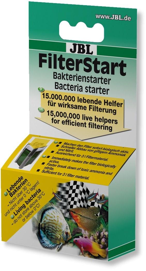 JBL FilterStart 15 millions de bactéries vivantes pour l\'activation biologique de votre filtre