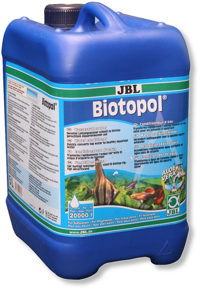 JBL Biotopol 5 L conditionne l\'eau de votre aquarium d\'eau douce