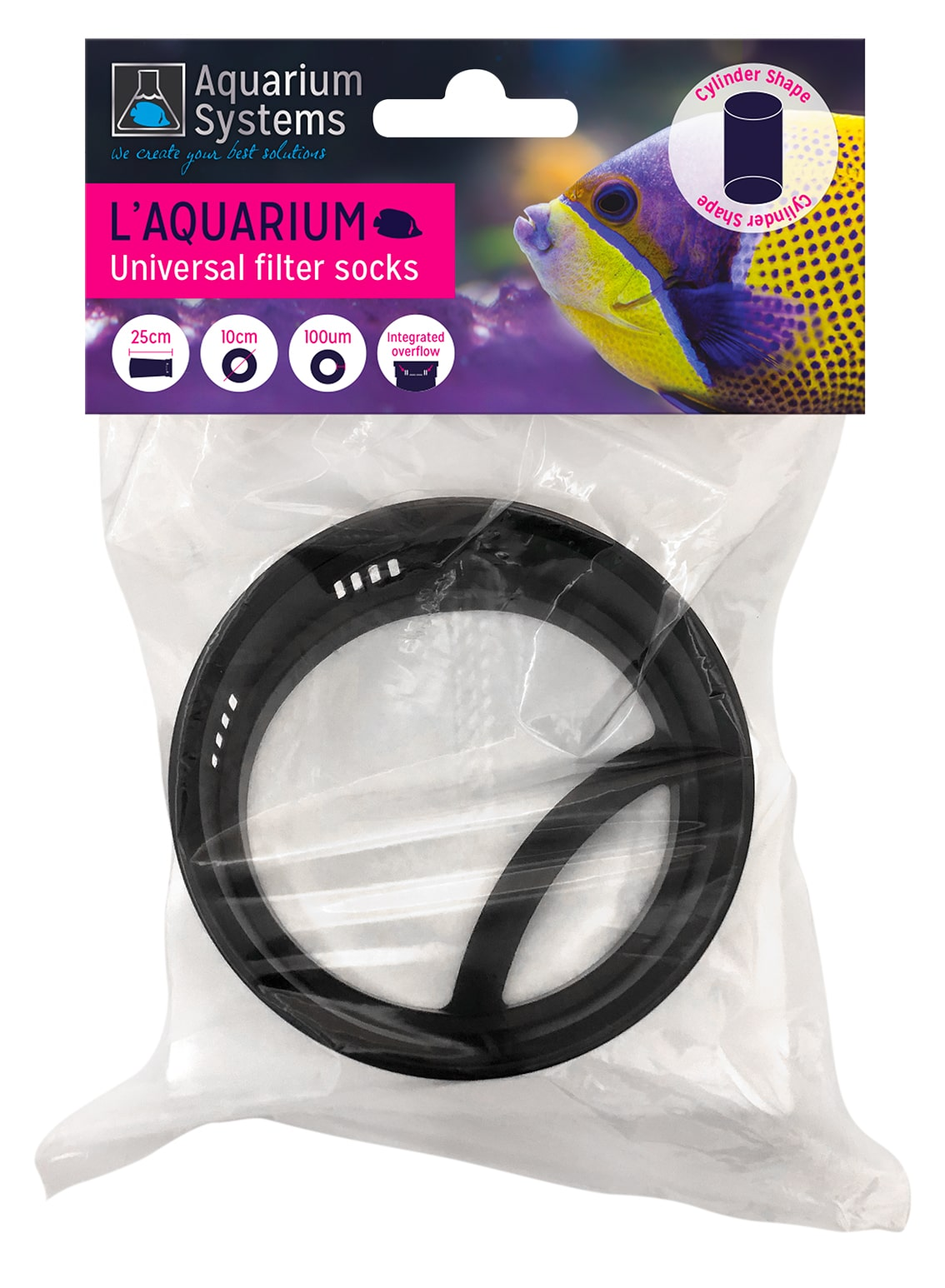 AQUARIUM SYSTEMS Universal Filter Bag 100 microns diamètre 10 cm