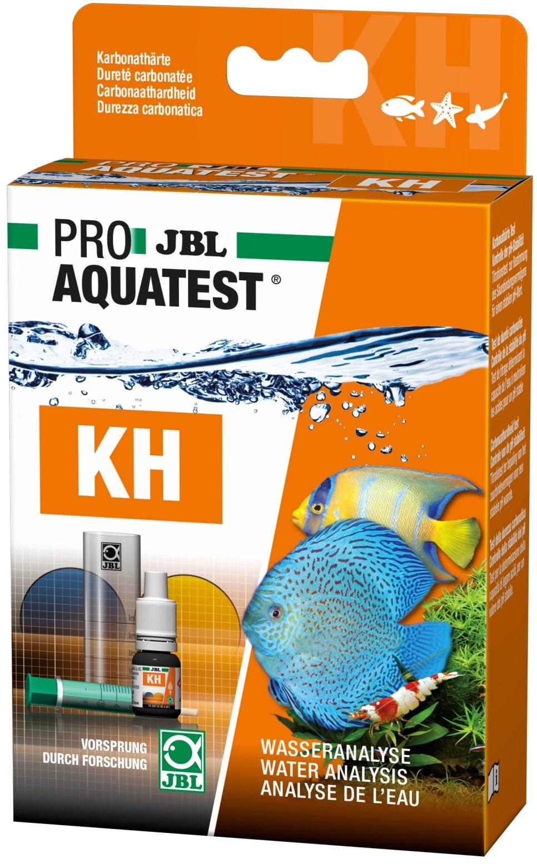 JBL ProAquaTest KH test dureté carbonatée pour aquarium d\'eau douce, eau de mer et bassin