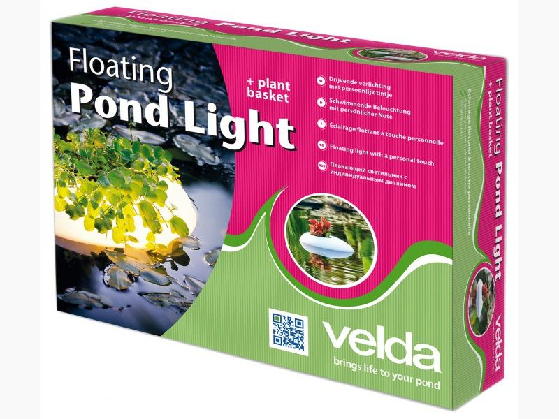 VELDA Floating Pond Light pot de plantation lumineux et flottant pour bassin