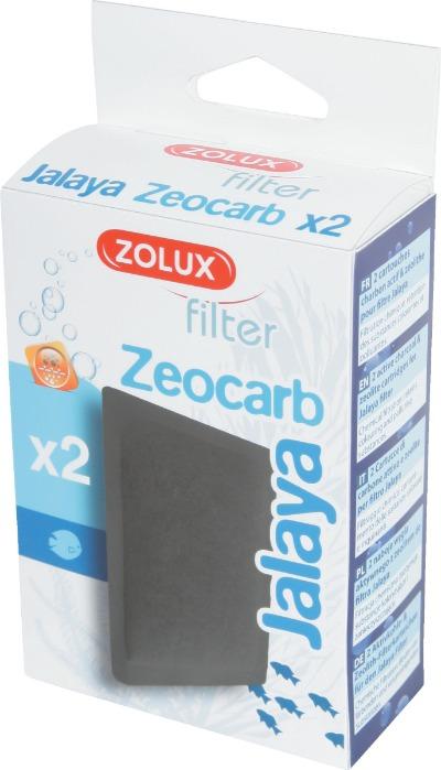 ZOLUX ZeoCarb lot de 2 cartouches charbon/zéolithe pour filtre Jalaya et Aqua Clear