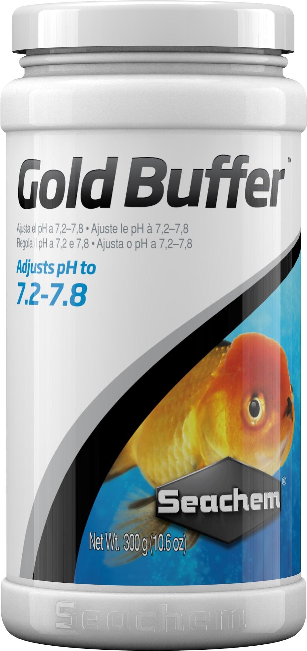 SEACHEM Gold Buffer 300 gr maintien le pH entre 7.2 et 7.8 pour les poissons rouges et voiles
