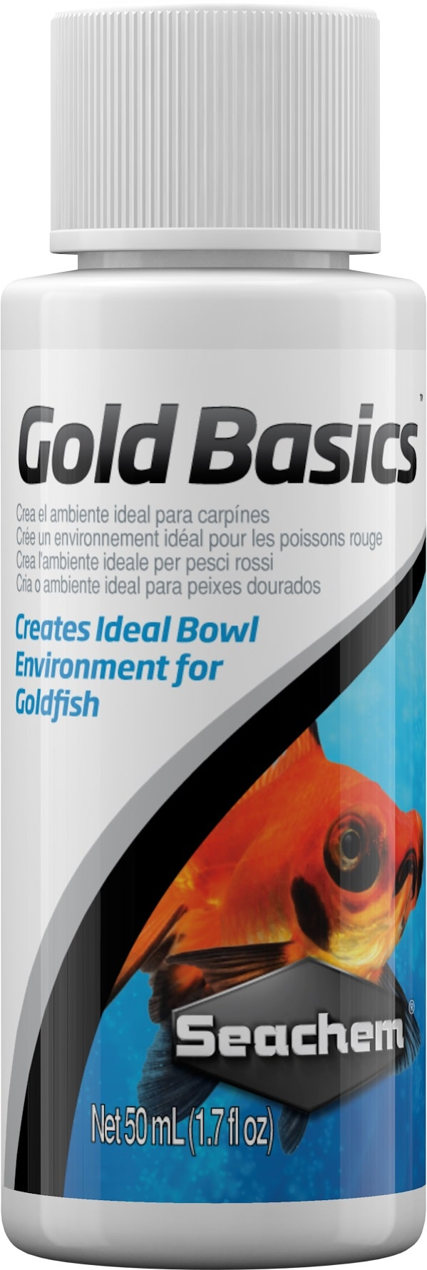 SEACHEM Gold Basics 50 ml conditionneur d\'eau complet pour poissons rouges et voiles