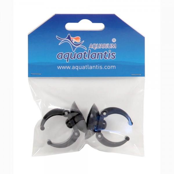 AQUATLANTIS Lot de 2 ventouses universelles avec Clips pour chauffage