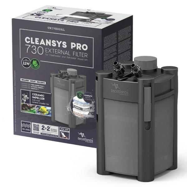 AQUATLANTIS CleanSys 730 PRO filtre externe pour aquarium de 60 à 200 L