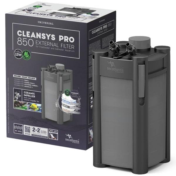 AQUATLANTIS CleanSys 850 PRO filtre externe pour aquarium de 90 à 300 L