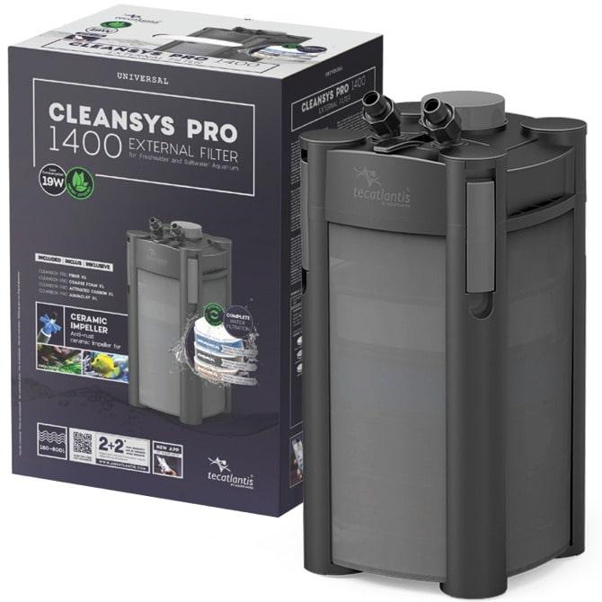 AQUATLANTIS CleanSys 1400 PRO filtre externe pour aquarium de 160 à 600 L