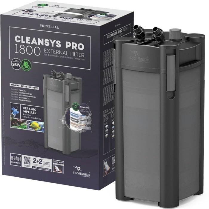 AQUATLANTIS CleanSys 1800 PRO filtre externe pour aquarium de 200 à 800 L