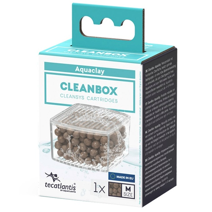 AQUATLANTIS CleanBox M recharge AquaClay pour filtre interne CleanSys 600 et 900