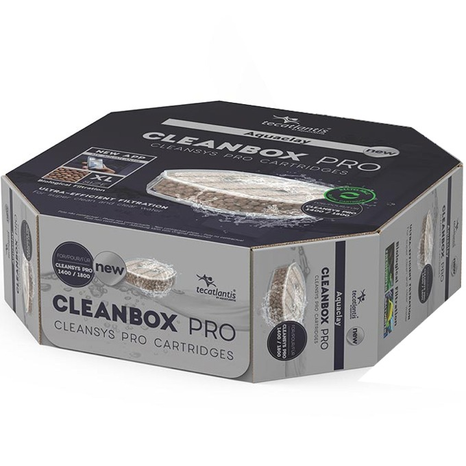 AQUATLANTIS CleanBox Pro XL recharge AquaClay pour filtre externe CleanSys PRO 1400 et 1800