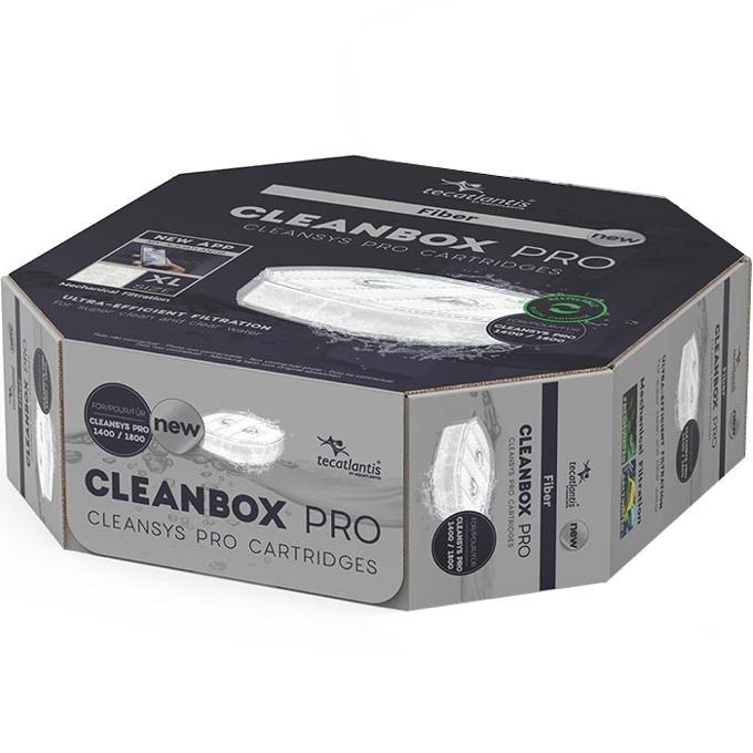 AQUATLANTIS CleanBox Pro XL recharge Ouate de filtration pour filtre externe CleanSys PRO 1400 et 1800