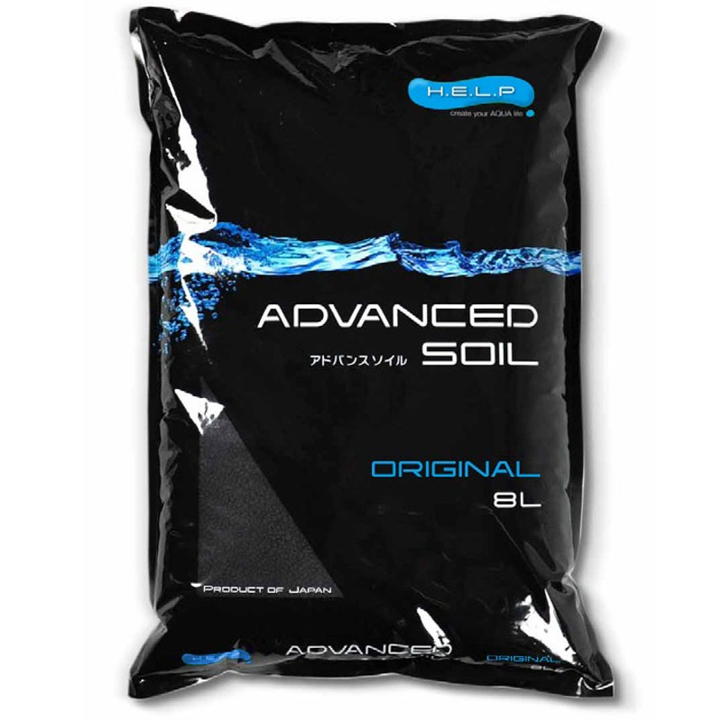 H.E.L.P. Advanced Soil Original 8L sol technique tout en un pour aquariums plantés