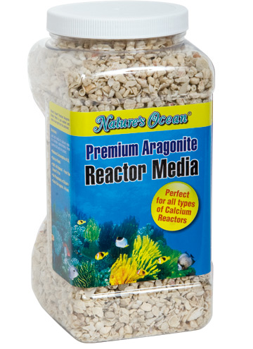 NATURE\'S OCEAN Premium Reactor Media 3,80L substrat d\'aragonite 4 à 6 mm pour réacteur à Calcium