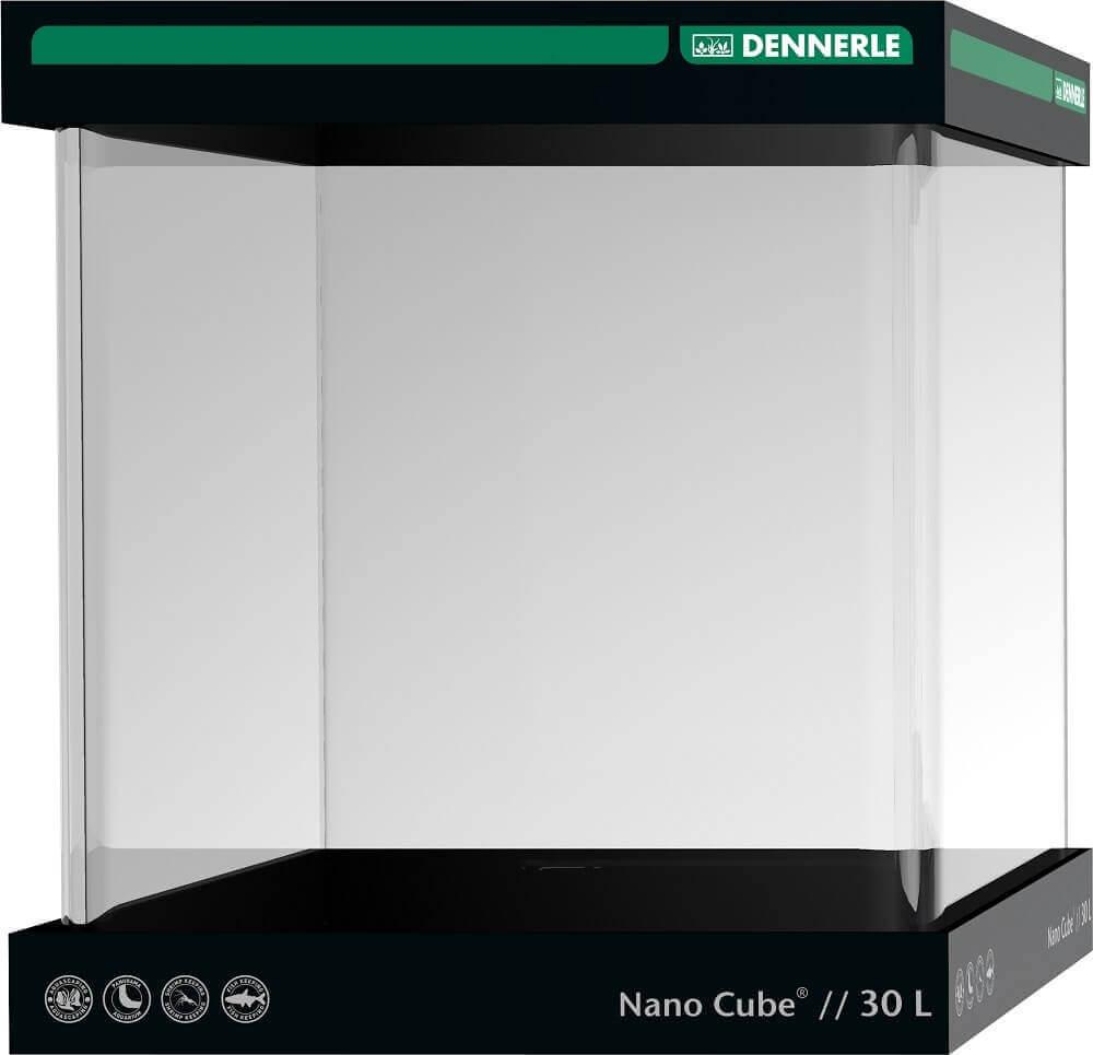 DENNERLE Nano Cube 30 L cuve nano-aquarium nue dimensions 30 x 30 x 35 cm