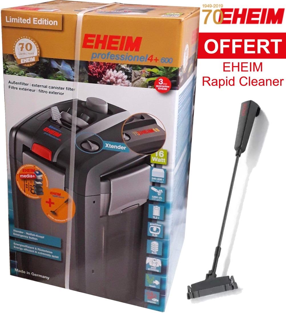 EHEIM 2275 professionel 4+ 600 ÉDITION LIMITÉE filtre externe pour aquarium jusqu\'à 600 L