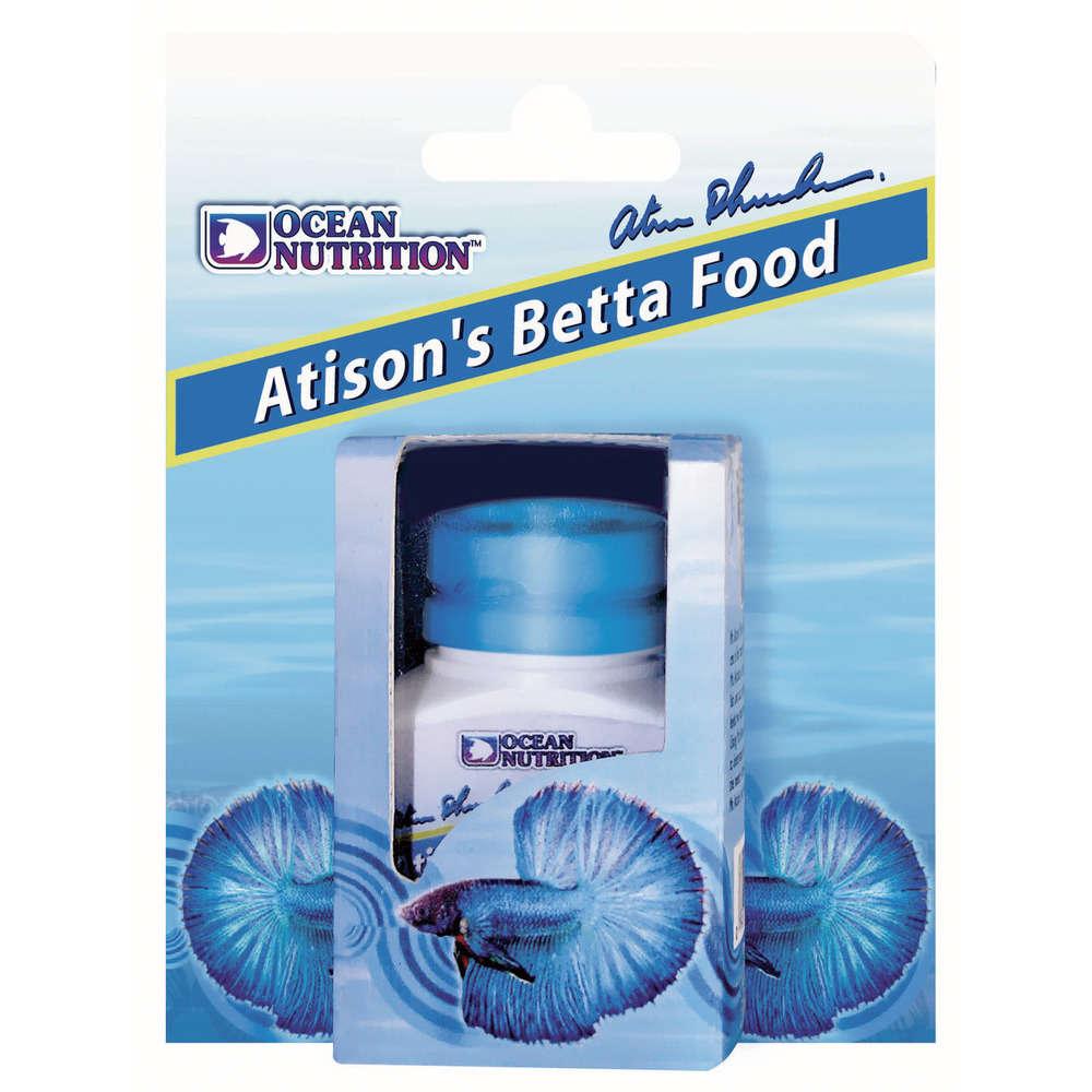 OCEAN NUTRITION Atison\'s Betta Food 15 gr nourriture en granulés flottants pour Combattant