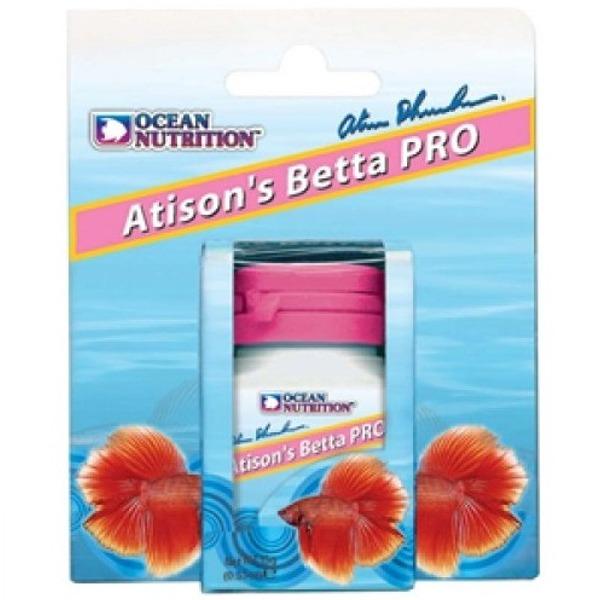 OCEAN NUTRITION Atison\'s Betta Pro 15 gr nourriture en granulés spéciale croissance et conditionnement pour Combattant
