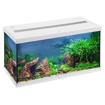 EHEIM AquaStar 54 LED Blanc aquarium équipé 60 cm 54L disponible avec ou sans meuble